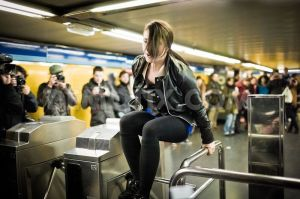 Yeah, I could jump a turnstile back in the day